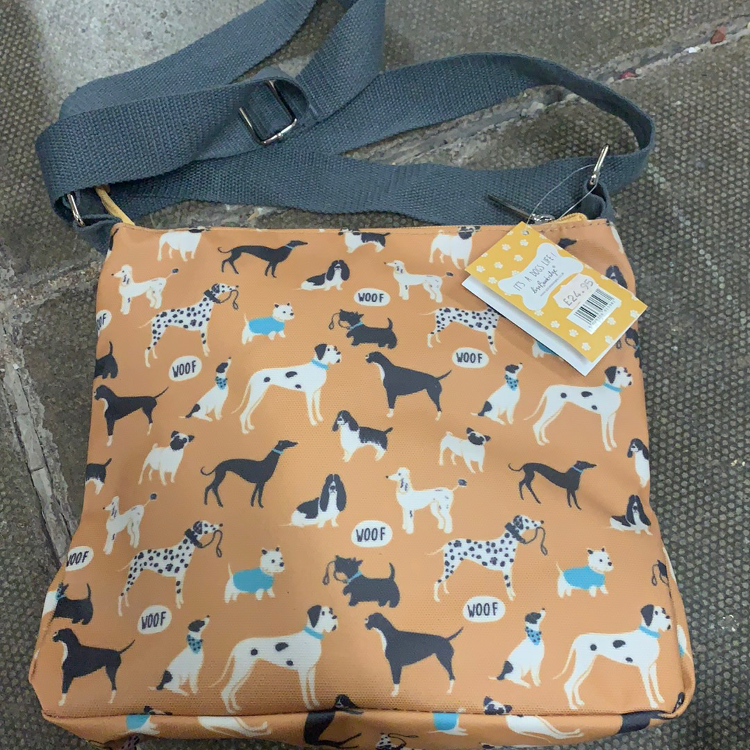 Bag - It's a Dogs Life Crossbody Bag