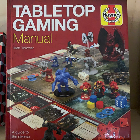 Book - Tabletop Gaming Manual - New Lanark Spinning Company