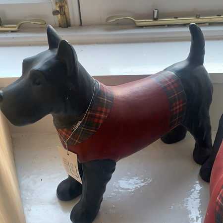 Ceramic Standing Scottie Dog - New Lanark Spinning Company