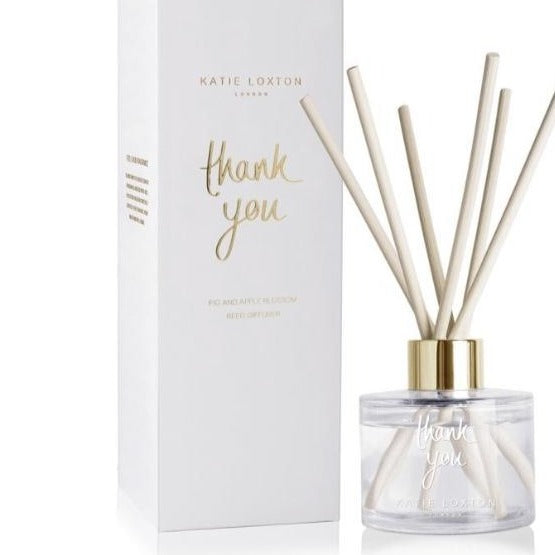 Katie Loxton Reed Diffuser - Thank You, Fig & Apple Blossom