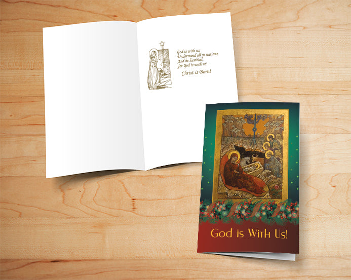 Box of 16 Religious Christmas Cards - 007