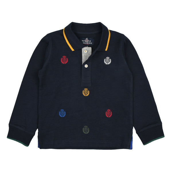 POLO ALL OVER EMBROIDERY