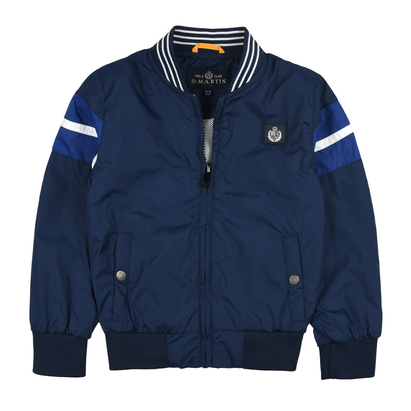 Jacket polo nylon