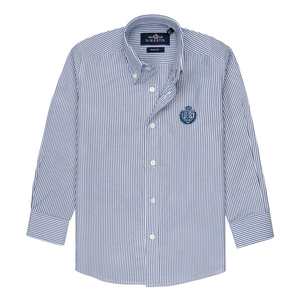 Camicia righe button down