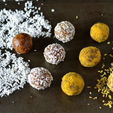 Recipe: Turmeric & Ginger Bliss Balls