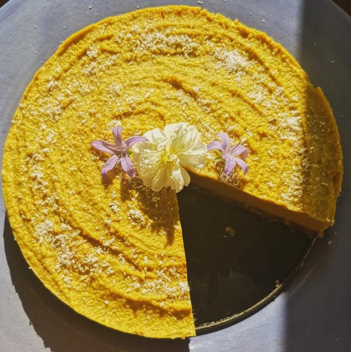 Raw Golden Mylk® Cake