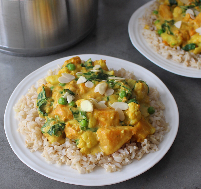 Emma Hollingsworth's Golden Vegetable Korma