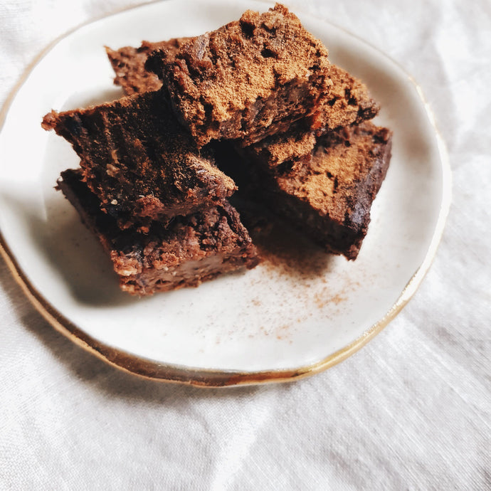 Adaptogen Brownies with Chaga & Golden Shrooms