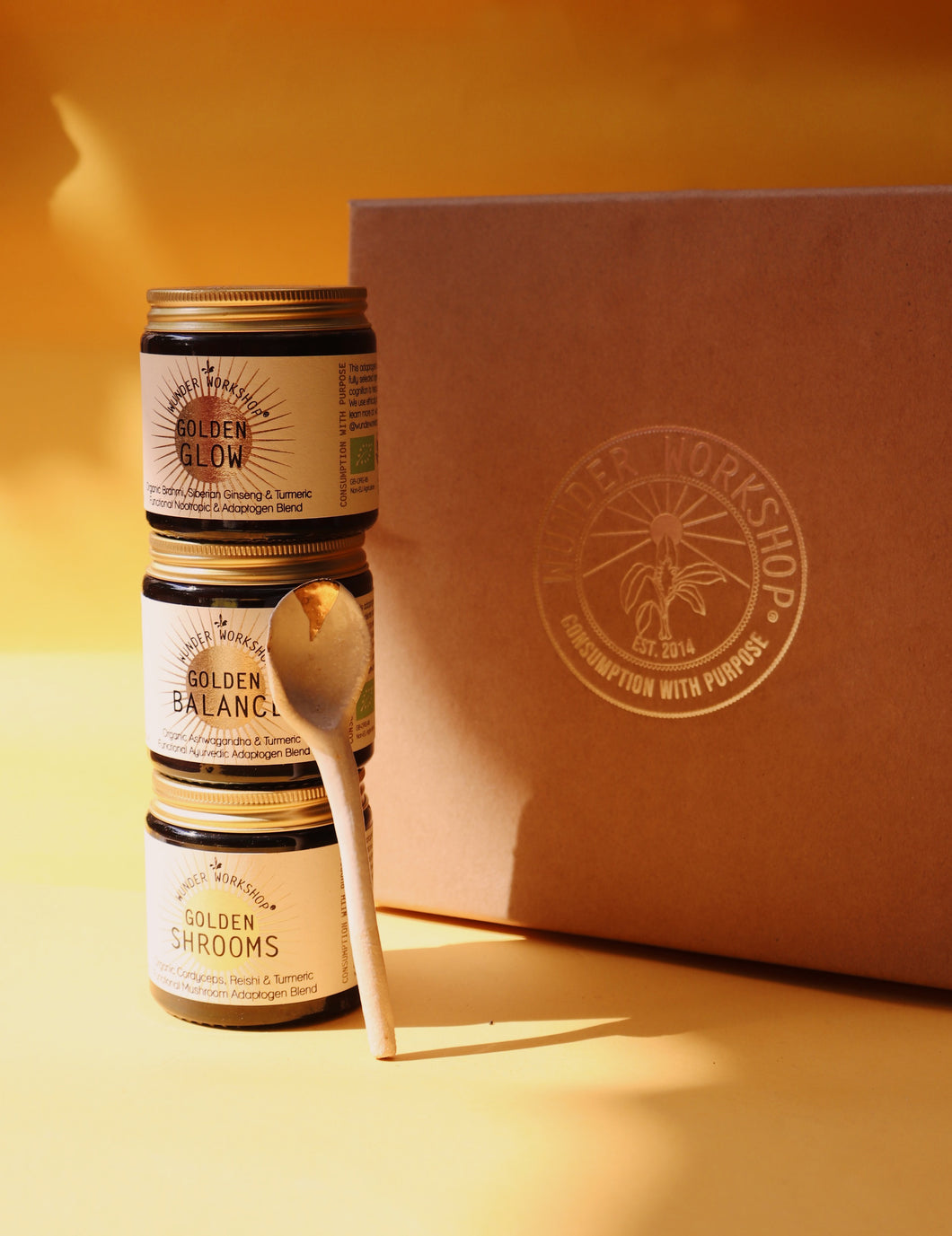 GIFT BOX - GOLDEN ADAPTOGEN TRIO