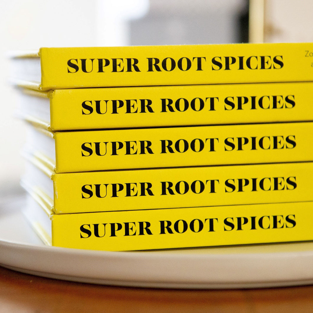 SUPER ROOT SPICES - The WUNDER book