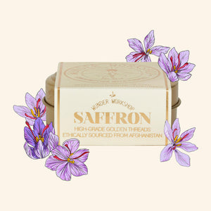 Wunder Saffron Recipe Box