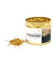 Load image into Gallery viewer, GOLDEN TURMERIC TEA (70g) -Soothe & Rejuvenate