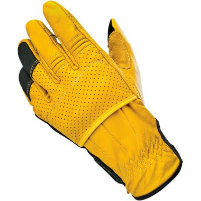 Black/Gold Borrego Glove Xs - Gloves - Biltwell (4598750085197)