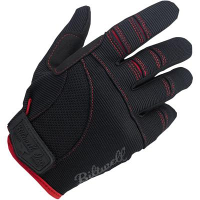 Black/Red Moto Gloves Xs - Gloves - Biltwell (4598758899789)