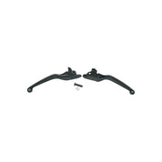 Drag Specialties Wide Blade Lever Set, Black, Fits 96-15 Big Twin (4598769418317)