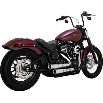 Mini Grenades 2-Into-2 Exhaust Systems - Vance & Hines - Exhaust - Softail 18-Newer (4598715842637)