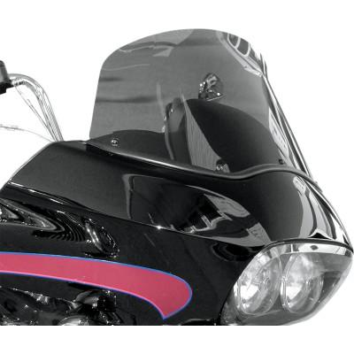 "Windshield 12"" Dark Smoke - Wind Vest - Bodywork - Windshield & Fairing (4598633201741)"