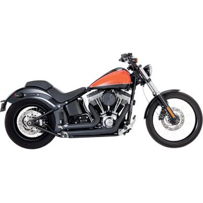 Shortshots Staggered Exhaust Systems - Vance & Hines - Exhaust - Softail 86-17 (4598721609805)