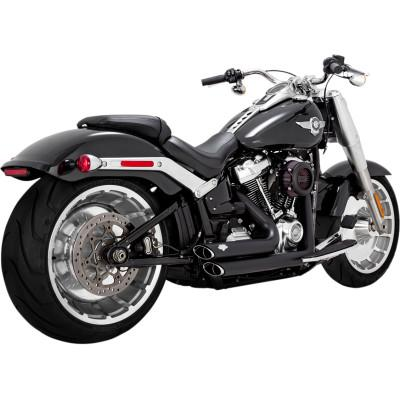 Shortshots Staggered Exhaust Systems - Vance & Hines - Exhaust - Softail 18-Newer (4598718922829)