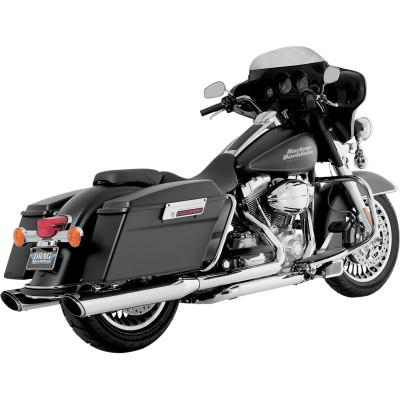 Twin Slash Slip-On Mufflers - Vance & Hines - Exhaust - Touring (4598733635661)