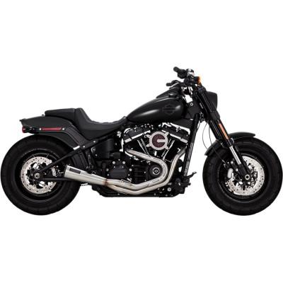 Upsweep 2-Into-1 Exhaust System - Vance & Hines - Exhaust - Softail 18-Newer (4598719021133)
