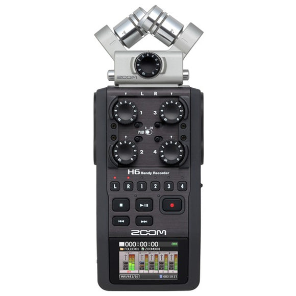 Zoom H6 Portable 6 Track recorder