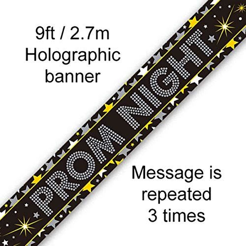 Prom Night Holographic Banner