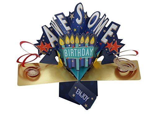 Second Nature Birthday Pop Up Card with
