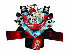 Birthday Pop Up Card with a Pirate