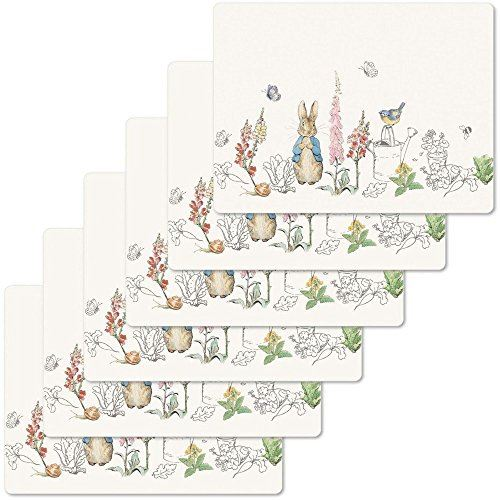 Peter Rabbit Classic Set of 6 Placemats
