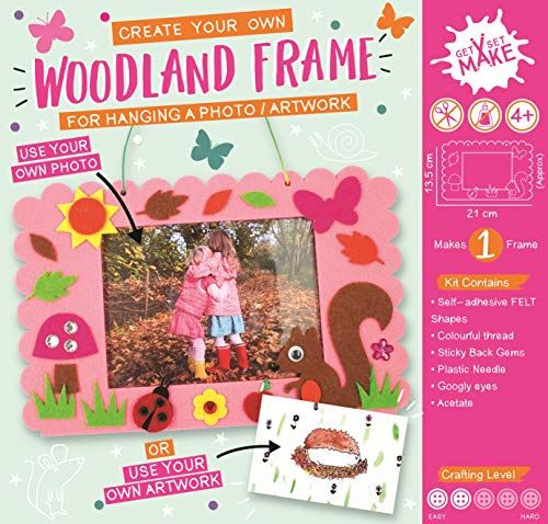 Get Set Make Create Your Own Felt Woodland Picture Frame