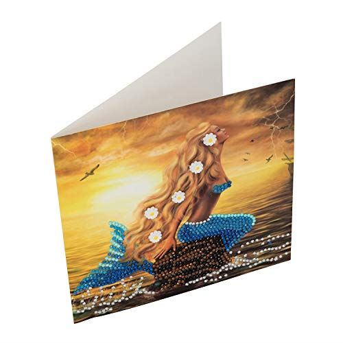 Crystal Art Mermaid Dreams Card