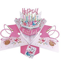 Second Nature Birthday Pop Up Card
