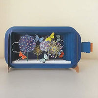 Dandelion Message in a Bottle Card