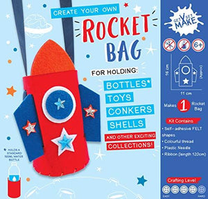 Get Set Make Create Your Own Rocket Bag/Bottle Holder