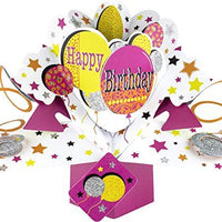 Pop Up Card Happy Birthday Balloons