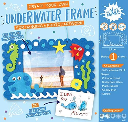 Get Set Make Create Your Own Felt Underwater Picture Frame