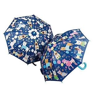 Pets Blue Colour Changing Umbrella