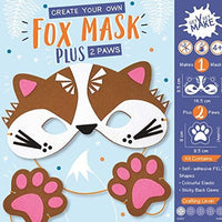 Get Set Make Create Your Own Felt Fox Mask and Paws