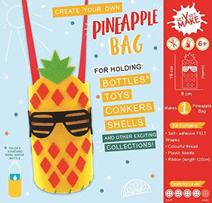Get Set Make Create Your Own Pineapple Bag/Bottle Holder