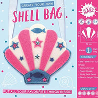 Get Set Make Create Your Felt Sea Shell Bag