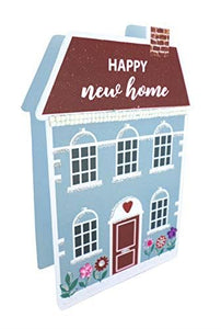 Paper Dazzle New Home 3D Congratulations Greeting Card Glitter Finished PDZ041