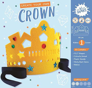 Get Set Make Create Your Own Felt Crown