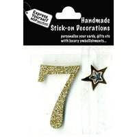 self adhesive, Gold number 7, Topper