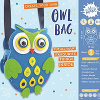 Get Set Make Create Your Felt Owl Bag Kids