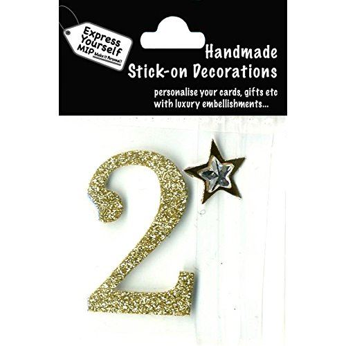 self adhesive, Gold number 2, Topper