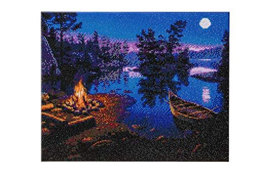 Crystal Art Moonlight Bay 40 x 50 cm Landscape Framed Crystal Art Kit