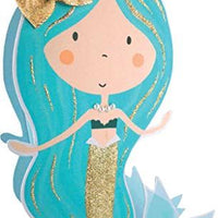 Paper Dazzle Mermaid Happy Birthday 3D Birthday Greeting Card Glitter Finished PDZ020