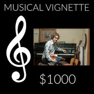 $1000 Platinum Musical Vignette Gift Songs by Will Taylor