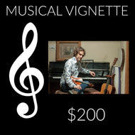 $200 Musical Vignette Gift Songs by Will Taylor